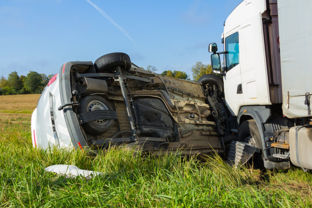 Lorry Crash. Commercial Vehicle insurance near me, Hull, East Yorkshire