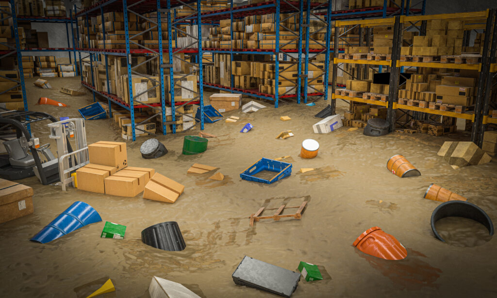 Flood Warehouse. Wholesalers / Manufacturers business insurance, Hull, East Yorkshire.